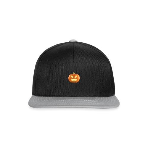 Halloween Pumpkin scary face 7 - Snapback-caps