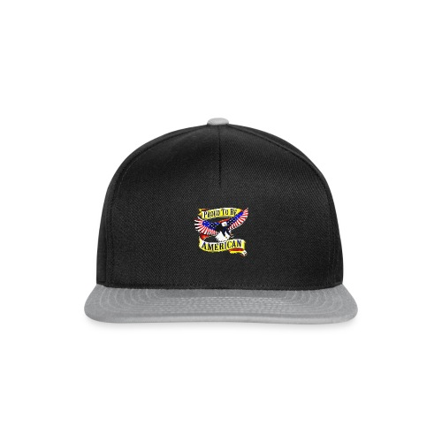 EAGLE PROUD TO BE AMERICAN UNISEX T-SHIRT - Casquette snapback