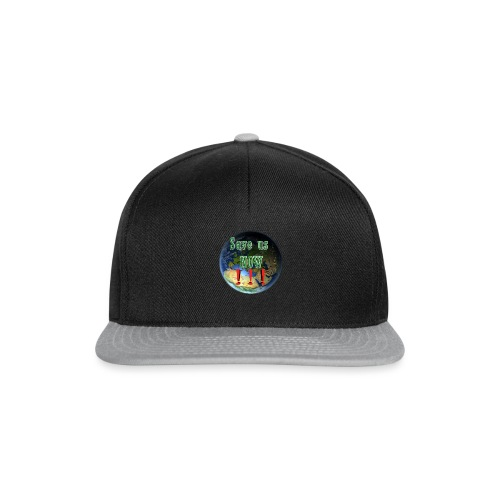 save us earth friday for future - Snapback Cap