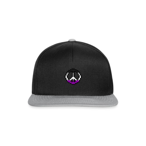 asexual pacific stripe - Snapback Cap