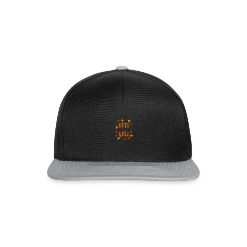 Nuts about fall - Snapback Cap