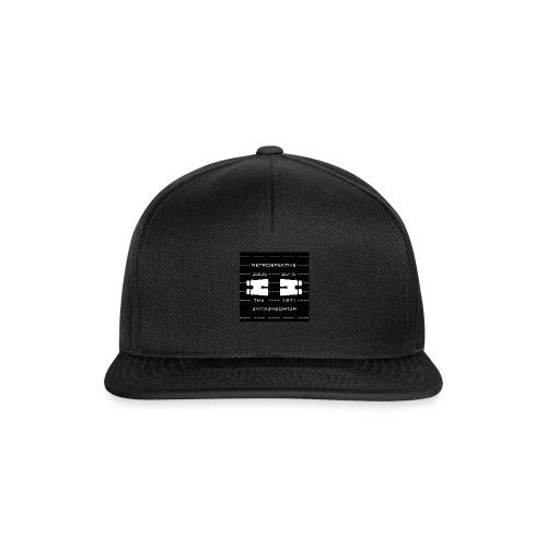 coverRETRO03bl - Snapback Cap
