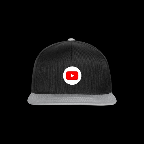 1024px YouTube social white circle 282017 29 svg - Snapback Cap