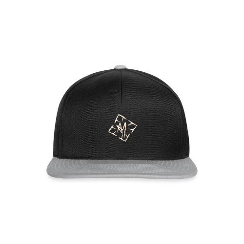 Across Yourself - Logo white transparent - Snapback Cap