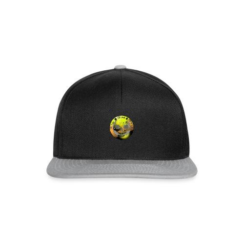 Rigormortiz Metallic Yellow Orange Design - Snapback Cap