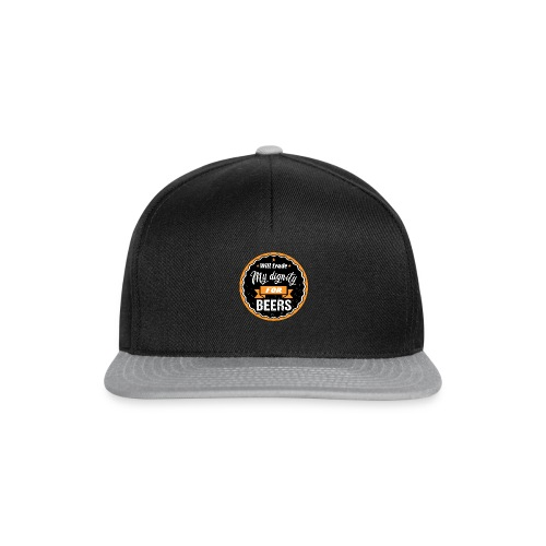 Trade my dignity for beer - Snapback Cap