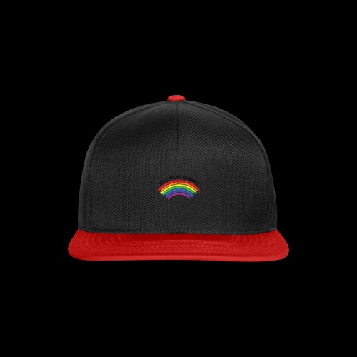 When it rains, look for rainbows! - Colorful Desig - Snapback Cap
