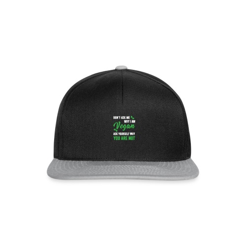 Vegan style - Snapback Cap