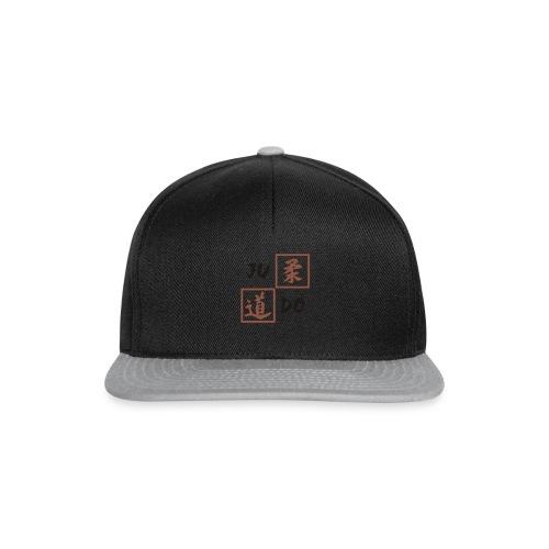 judo 2farbig - Snapback Cap
