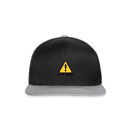 scam-aware.com's line of clothing - Snapback Cap