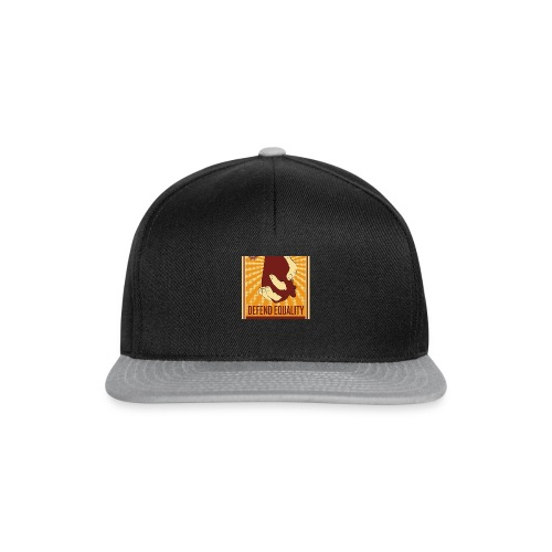 love and equality - Snapback cap