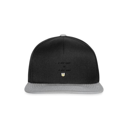 Damesshirt met kijken en kijken - Snapback cap