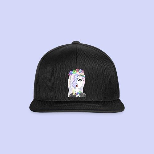 Rainbow flower girl - Female shirt - Snapback Cap
