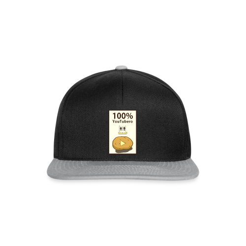 100% YouTubero WC-Man - Snapback Cap