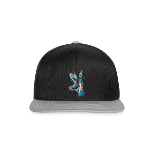 Blue Dragon - Casquette snapback