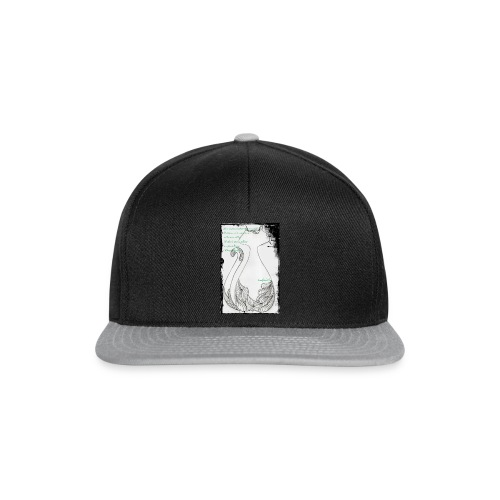 Gatto elegante 2 - Snapback Cap