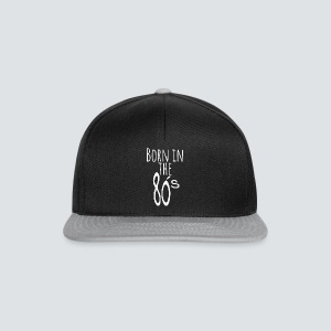 Born in the 80 s weiss - Snapback Cap