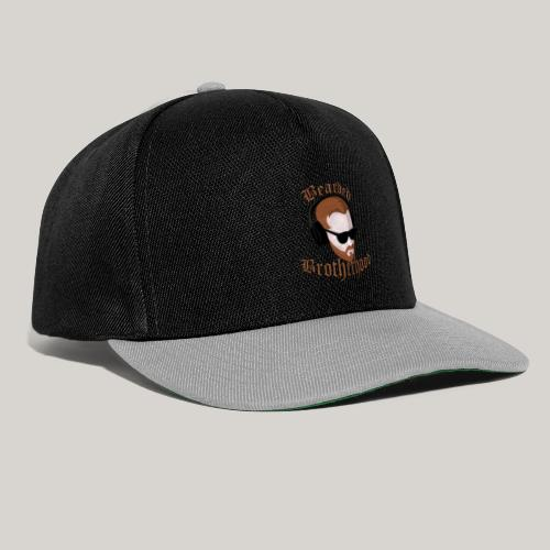 The Bearded Brotherhood w/ Text - Snapback Cap