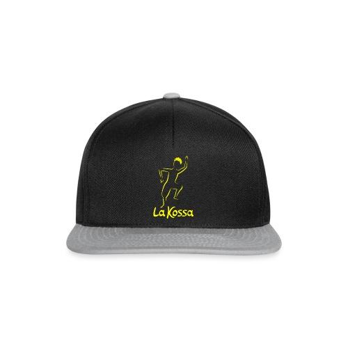 La Kossa Afro Dance Fitness Logo Gelb 1 - Snapback Cap