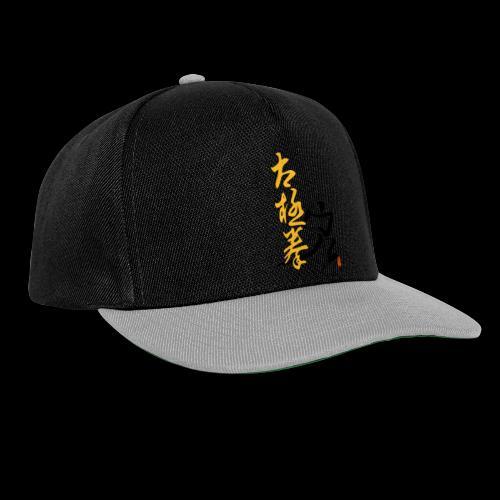 taiji schrift peitsche - Snapback Cap