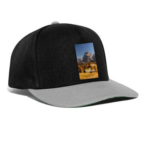Langkofel - Wahrzeichen Südtirols - Snapback Cap