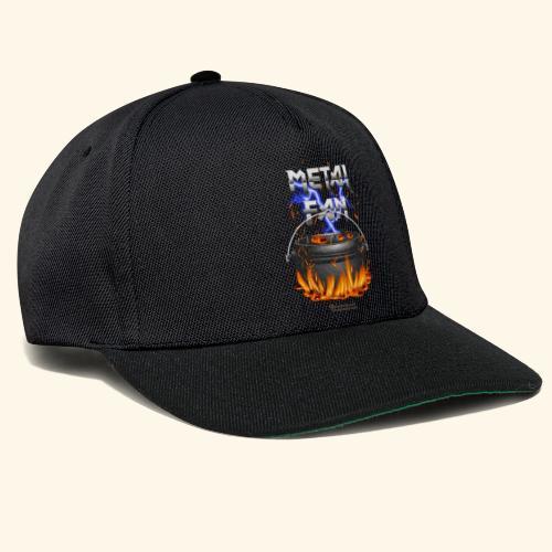 Metal Fan | ▶ Visit Dutch Oven T-Shirts - Snapback Cap