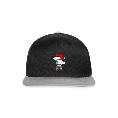 Christmas Giraffe - Snapback Cap