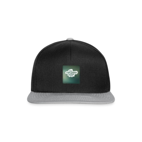 NEVER GIVE UP! - Snapback Cap