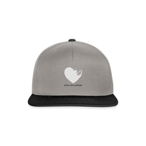Cuore Appaloosa (bianco/rosso) - Snapback Cap