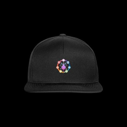 armonia delle energie all colors - Snapback Cap