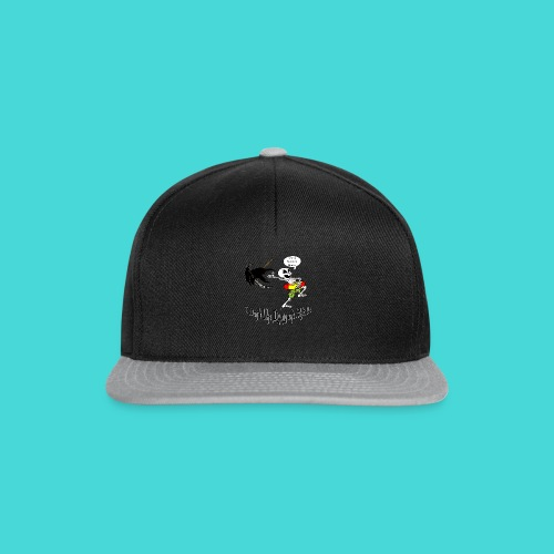 Happy Living Skeleton - Snapback cap