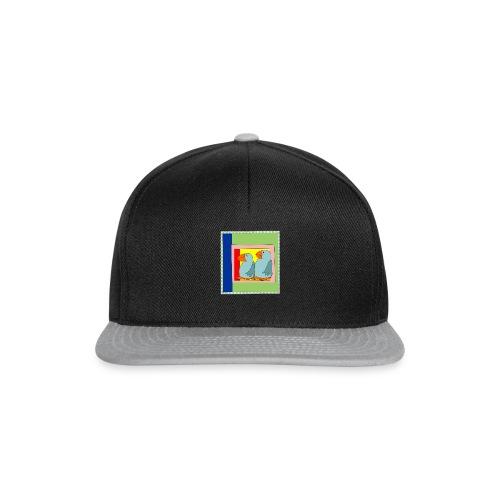Colorart1 - Snapback Cap