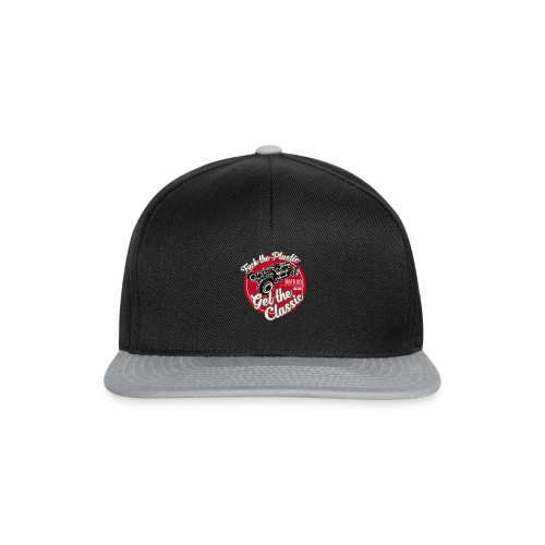 T-shirt Fuck the plastic, get the classic 4 - Casquette snapback