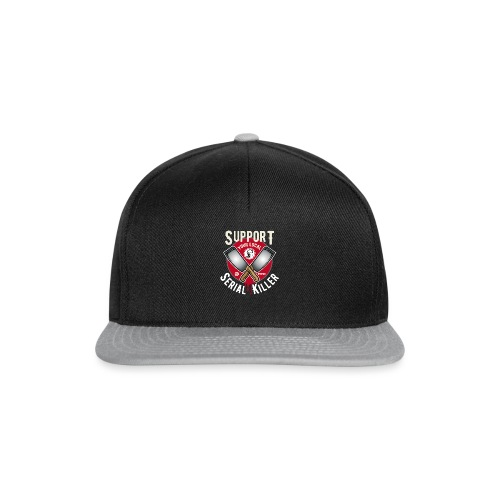 Support Your Local Serai Killer 1 HACHOIRS - Casquette snapback