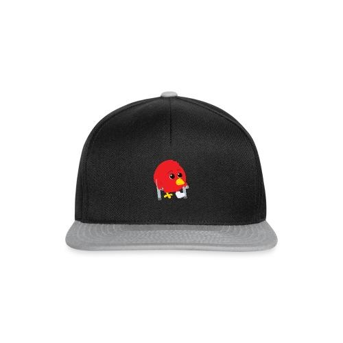 Oiseau rouge blessé - Casquette snapback