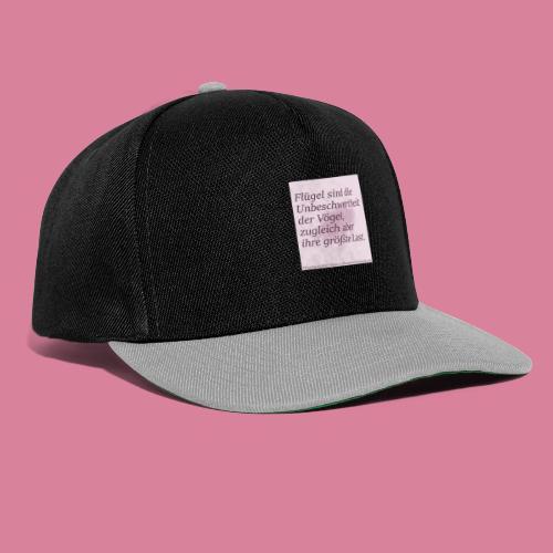 Unbeschwertheit - Snapback Cap