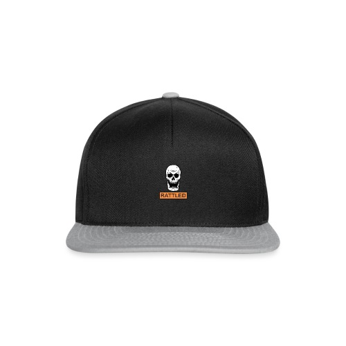 Rattled Spooky Halloween Skeleton Meme - Snapback Cap
