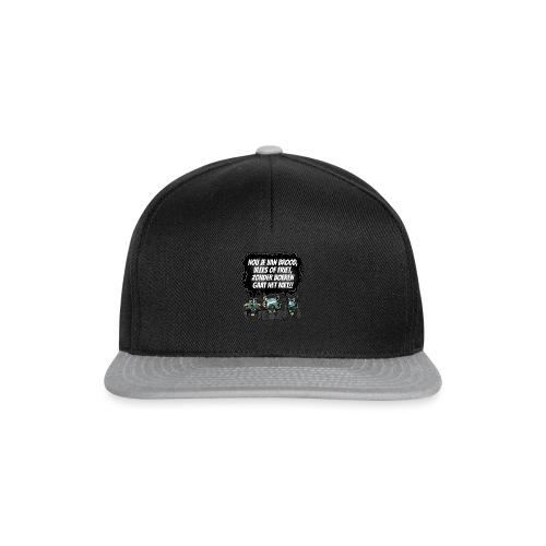 boeren tshirt F - Snapback cap
