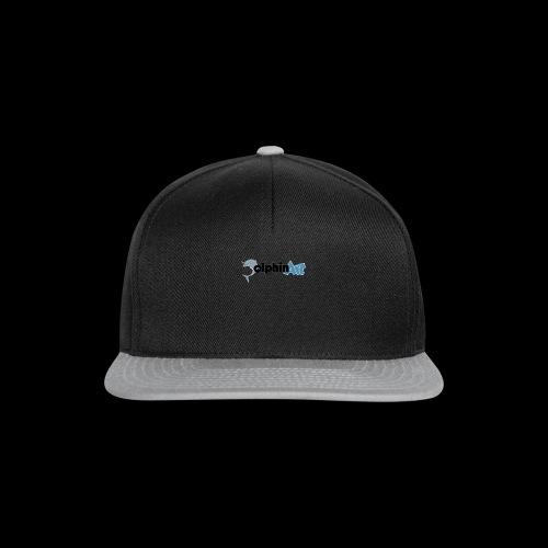 Dolphin Art Logo - Snapback Cap