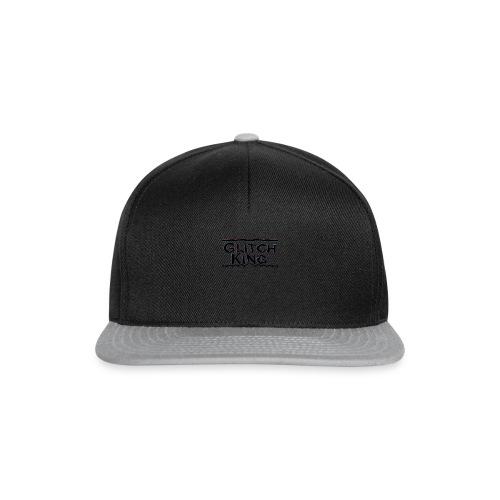 Glitch-King-Logo (extreme) - Snapback Cap