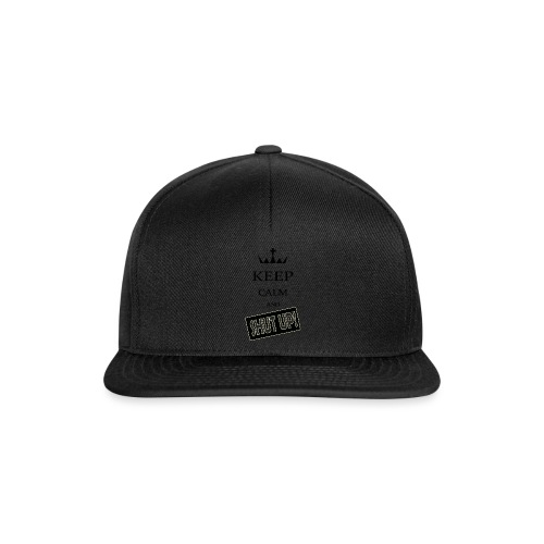 keep_calm and_shut up-01 - Snapback Cap
