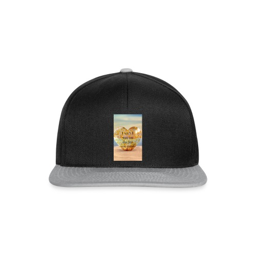 """""""I wish i was on the for you page"""" islanders merch - Snapback Cap"""