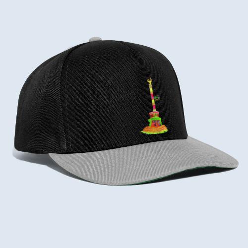 Siegessäule Berlin PopArt ickeshop BachBilder - Snapback Cap