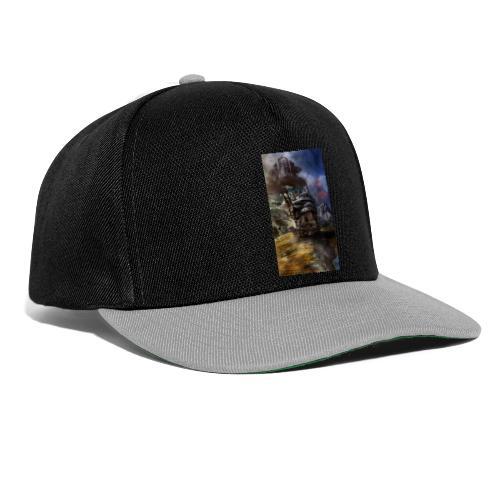 howl castle hd - Snapback Cap