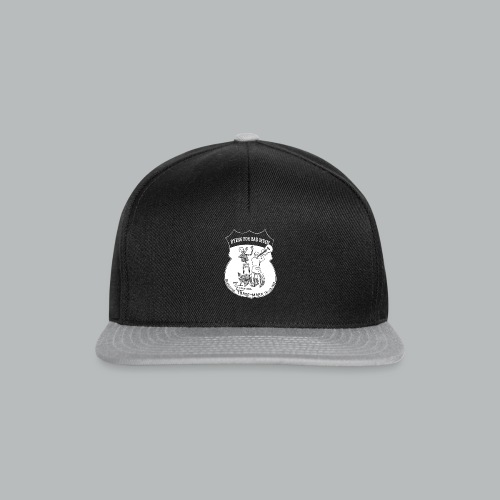 Dying For Bad Music White - Snapback Cap