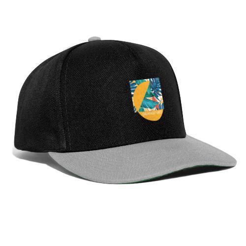 Orange Planet - Snapback Cap
