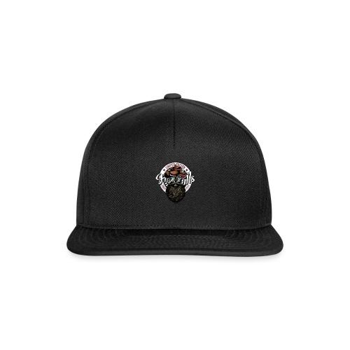 tete de mort crane hipster skull cowboy chapeau - Casquette snapback