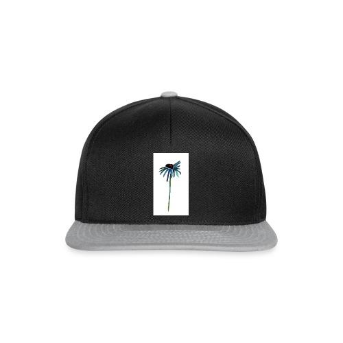 fiore blu - Snapback Cap