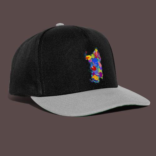 Sardegna Silhouette Paint - Snapback Cap