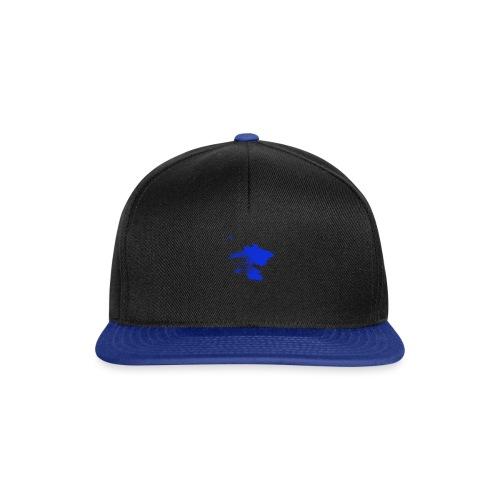ink splatter - Snapback Cap